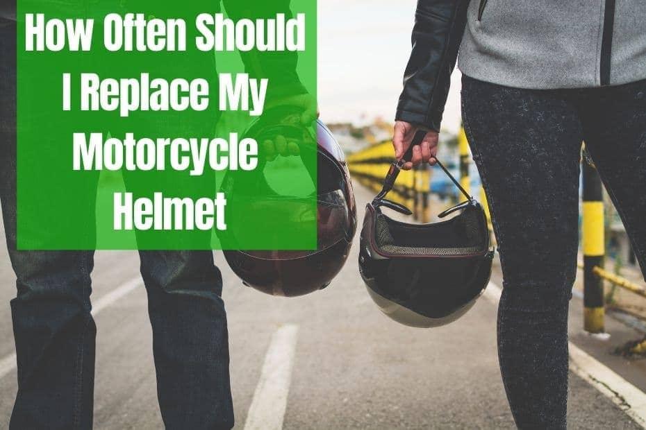 How Often Should I Replace My Motorcycle Helmet