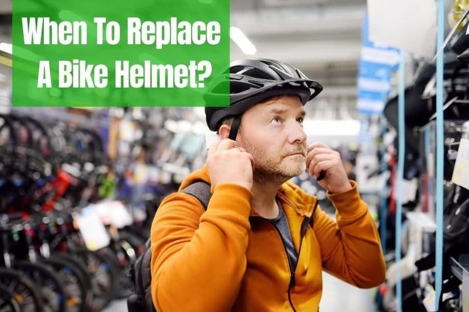Replacing Bike Helmet