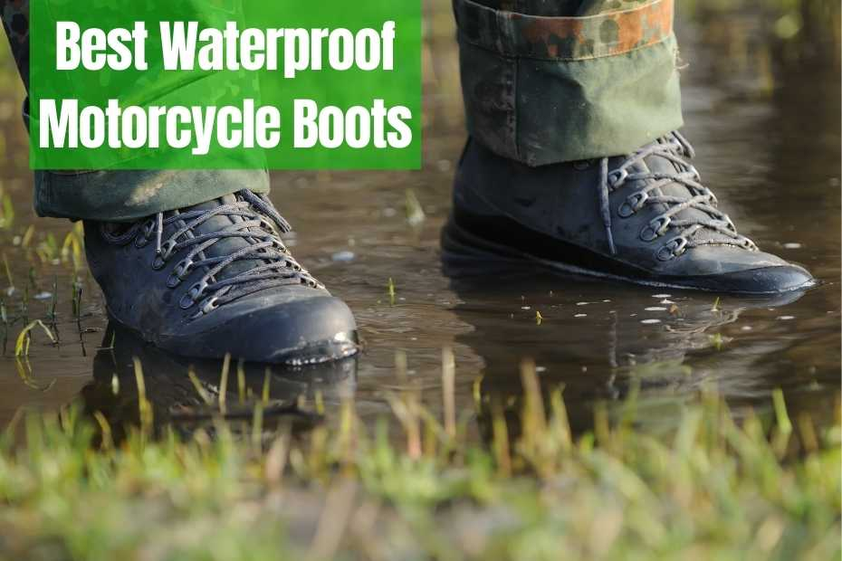 11 Best Waterproof Motorcycle Boots [2021]