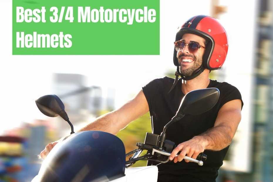 8 Best 3/4 Motorcycle Helmets For 2021