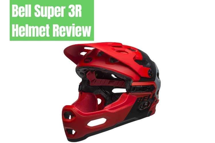 bell super 3r helmet