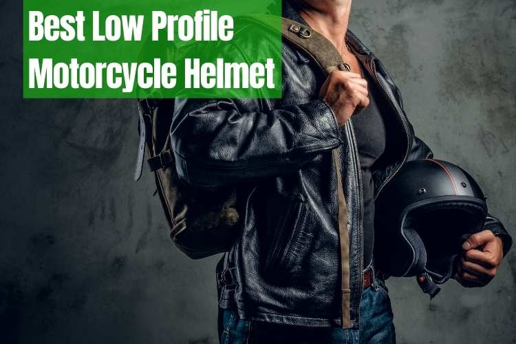 Low Profile Motorcycle Helmet